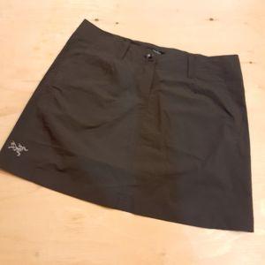 Arcteryx Brown Mini Skirt, Size 10